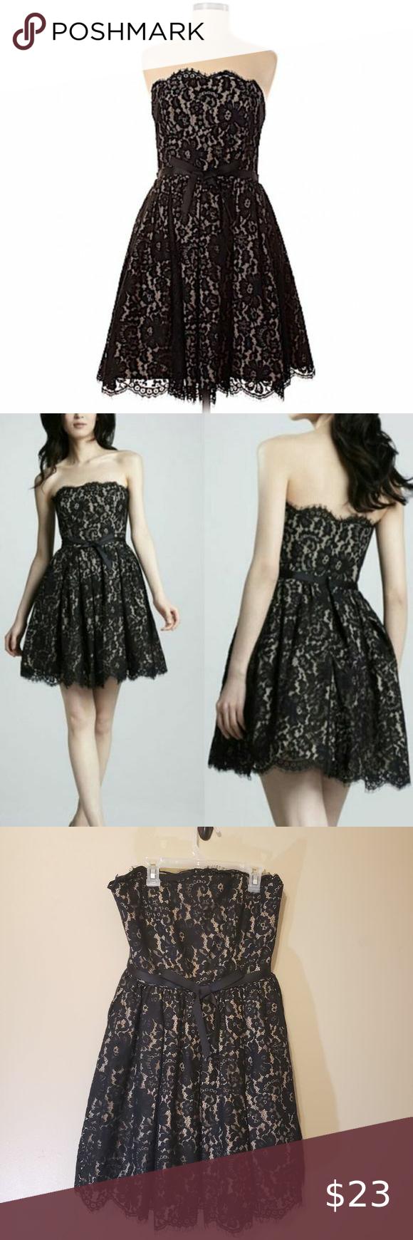 Nieman Marcus Black Lace Party Dress Semi Formal Black Lace Party Dress Lace Party Dresses Semi Formal Dresses [ 1740 x 580 Pixel ]