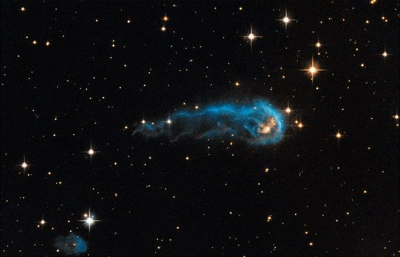 """Wow! The Most Amazing Images in Science This Week   LiveScience - a """"cosmic caterpillar"""" nearly 6 trillion miles long slinking through deepspace"""
