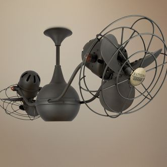 Love The Look Of Vintage Double Ceiling Fans Feels Like