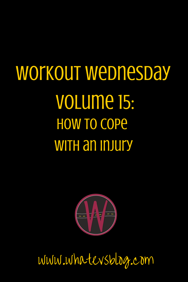 Workout Wednesday Vol 15:  How to Cope with an Inury