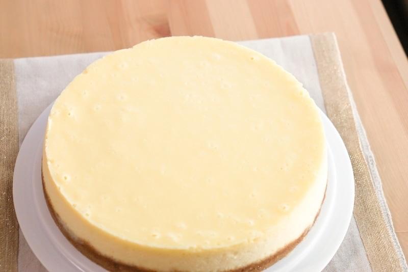 Plain Cheesecake Recipe No Water Bath