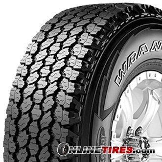 GOODYEAR WRANGLER ALL-TERRAIN ADVENTURE Tire - 245/75-16 ...