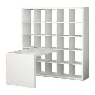 Ikea Expedit Bookcase With Desk Ikea Bureau Ikea Piece De