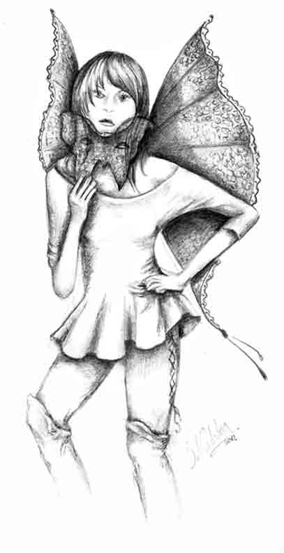 Dark Fairies Drawings Drawing of Dark Fairies Fairy