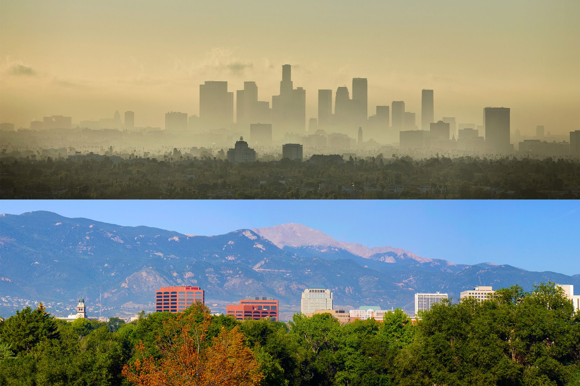 The 10 U S Cities With The Best And Worst Air Quality Air Quality City