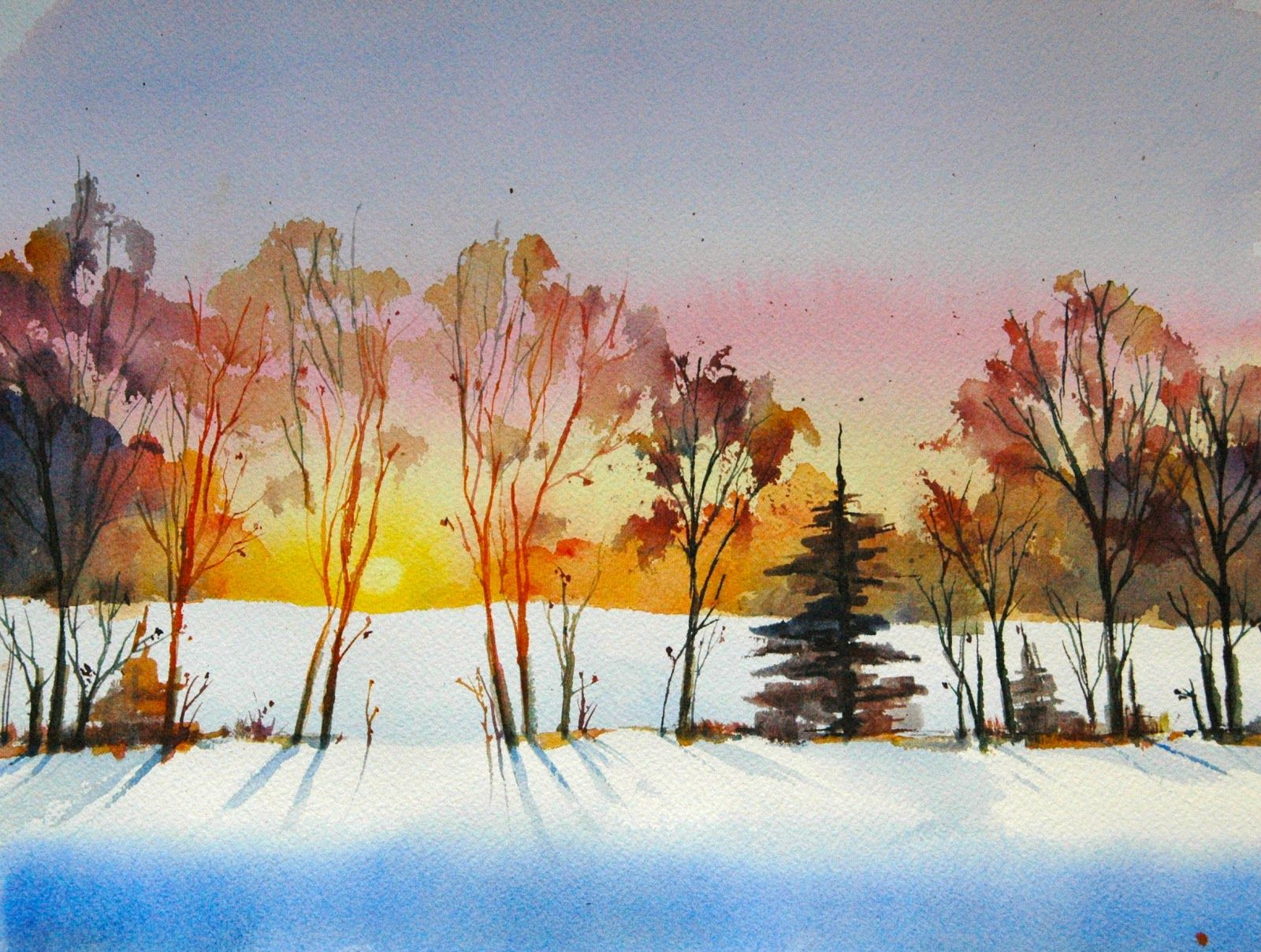 Watercolor artist magazine palm coast fl - Binary Colors Paintings By Michele Clamp Update To Sterling Edwards Sunset Landscape