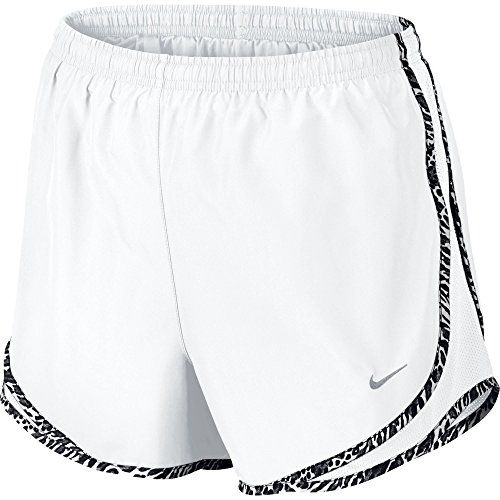 Nike Tempo Women's Running Shorts (SM X 3, WHITE/WHITE/WOLF GREY