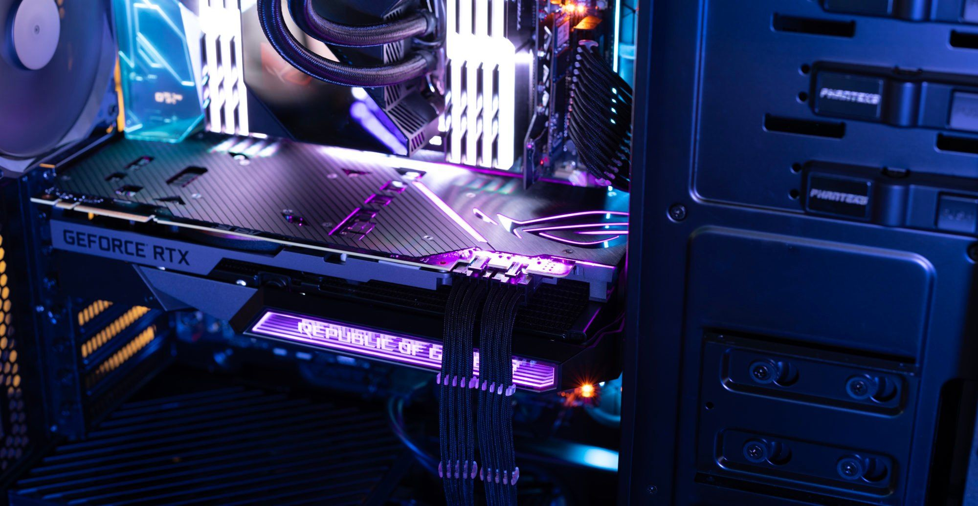 The Rog Matrix Rtx 2080 Ti Fully Integrates Liquid Gpu Cooling
