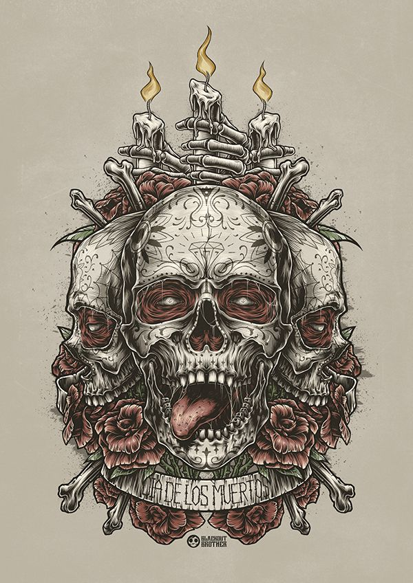Pin by Jimmy Bills on Skulls in 2019 Skull art, Skull