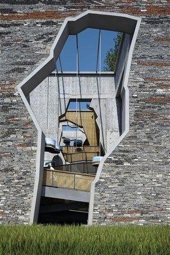 Chinese architect Wang Shu won the 2012 Pritzker Architecture Prize