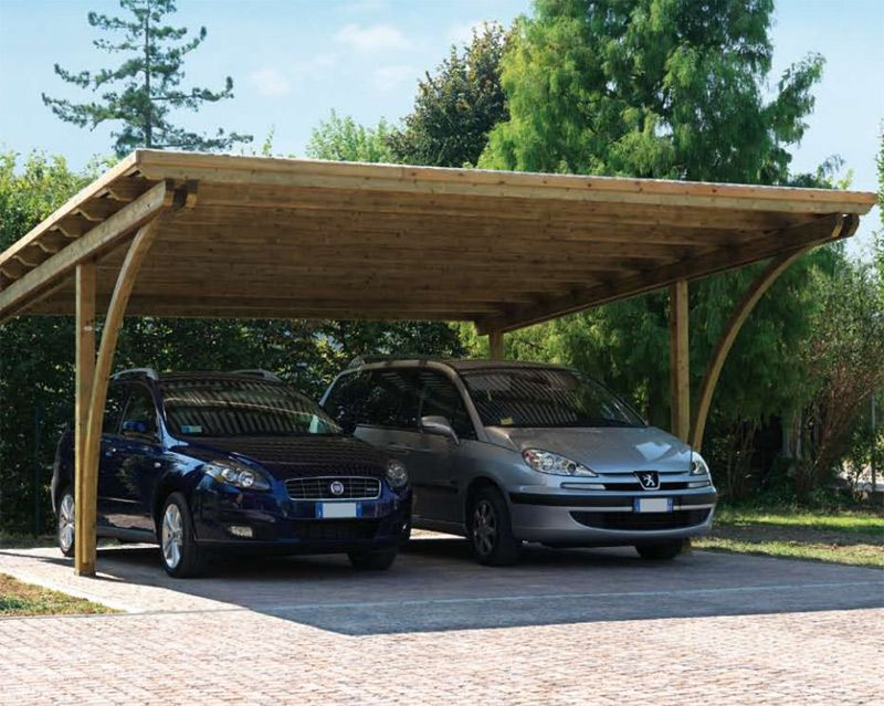 Serie serie autocover strutture per copertura auto for Carport 2 posti