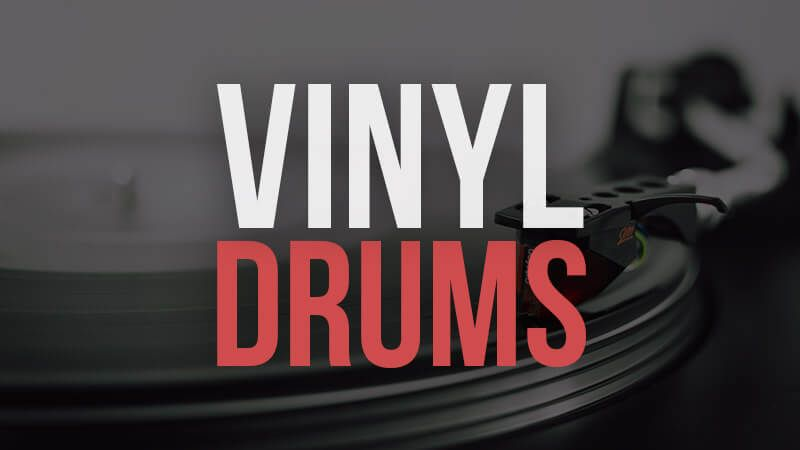 10 Free Vinyl Drum Kits With Images Drum Kits Vinyl Drums