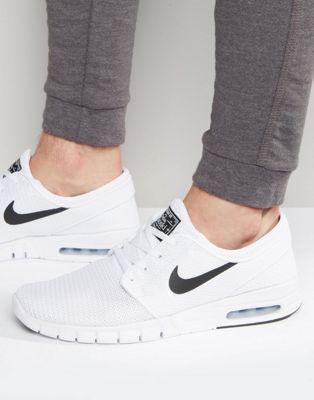 brand new 355cc 87cbc Nike SB Stefan Janoski Max Sneakers In White 631303-100