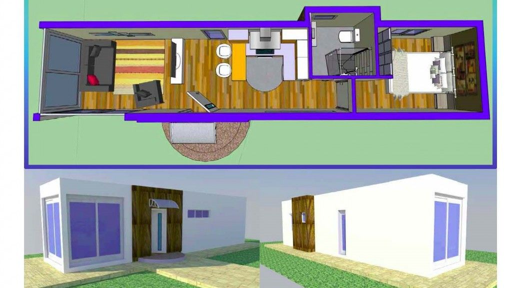 Image result for casas de contenedores maritimos c a sa comtenedor pinterest contenedores - Como hacer una casa con un contenedor maritimo ...