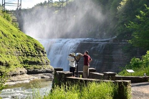 Letchworth State Park: Waterfalls, spectacular views in 'Grand Canyon of the East' | NewYorkUpstate.com #letchworthstatepark