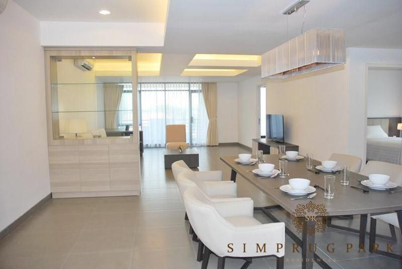 For Rent Simprug Park Res 2 Bedroom Penthouse 214m2 Newly Renov