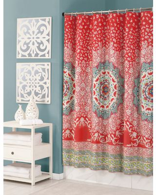 Bedding Sales Colorful Shower Curtain Boho Shower Curtain