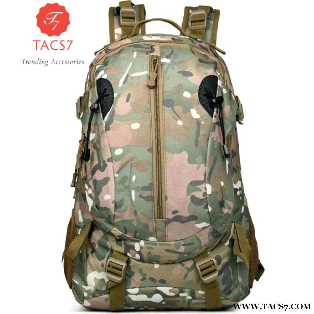 0959fa3d053 New Men Women Outdoor Military Army Tactical Backpack Trekking Sport Travel  Rucksacks Camping Hiking Camouflage Bag