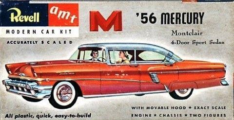 1956 Mercury Montclair 4 Door Sport Sedan by Revell AMT Kit