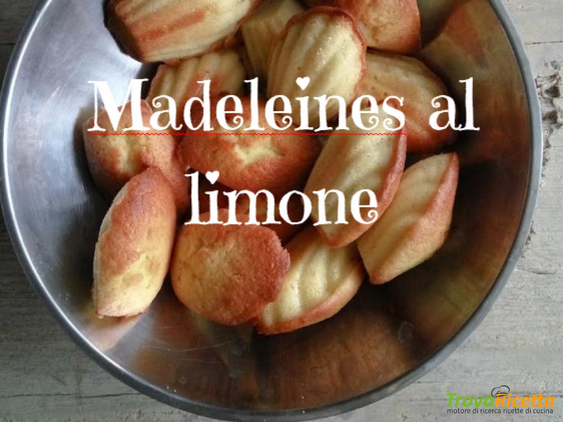 Madeleines al limone: la ricetta di Acqua e Farina Sississima  #ricette #food #recipes