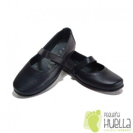Niñas Zapatos Con Velcro Muy Merceditas Tipo Colegiales Woaqcwh5 Para wqfa4