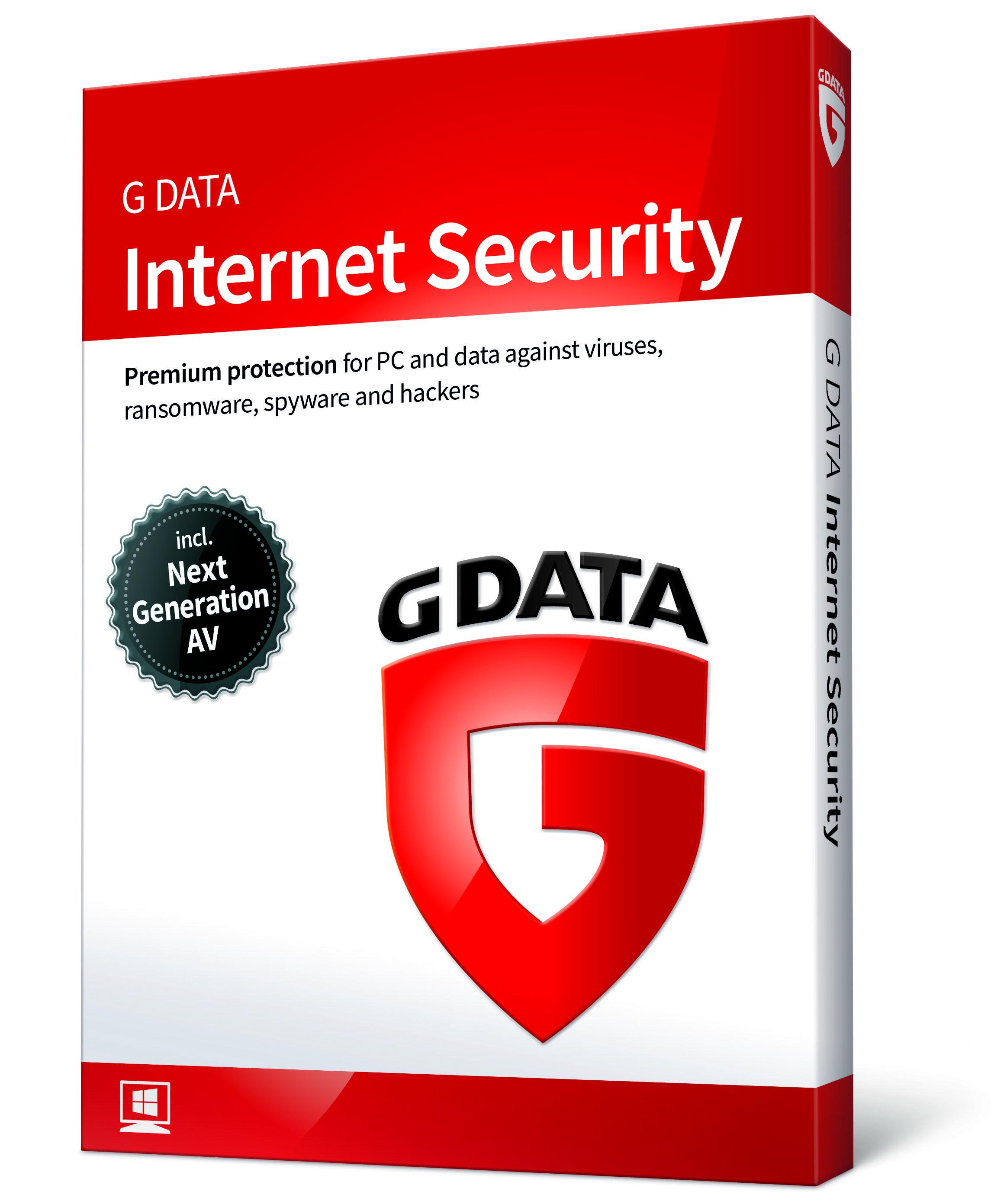 g data antivirus 1pc 1an
