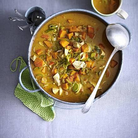 Curry-Hähnchen-Eintopf Rezept   LECKER