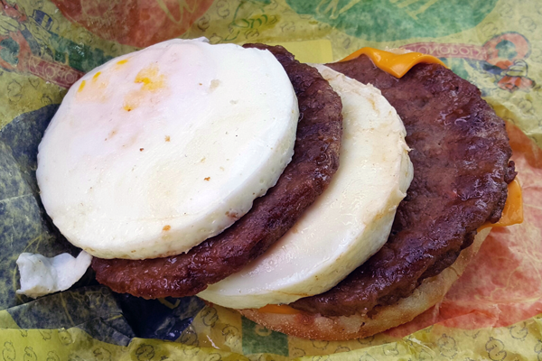 fast food breakfast keto friendly