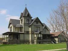 The Dunnan Hampton House Paxton Il 1897 Hamptons House Victorian Homes Victorian Architecture