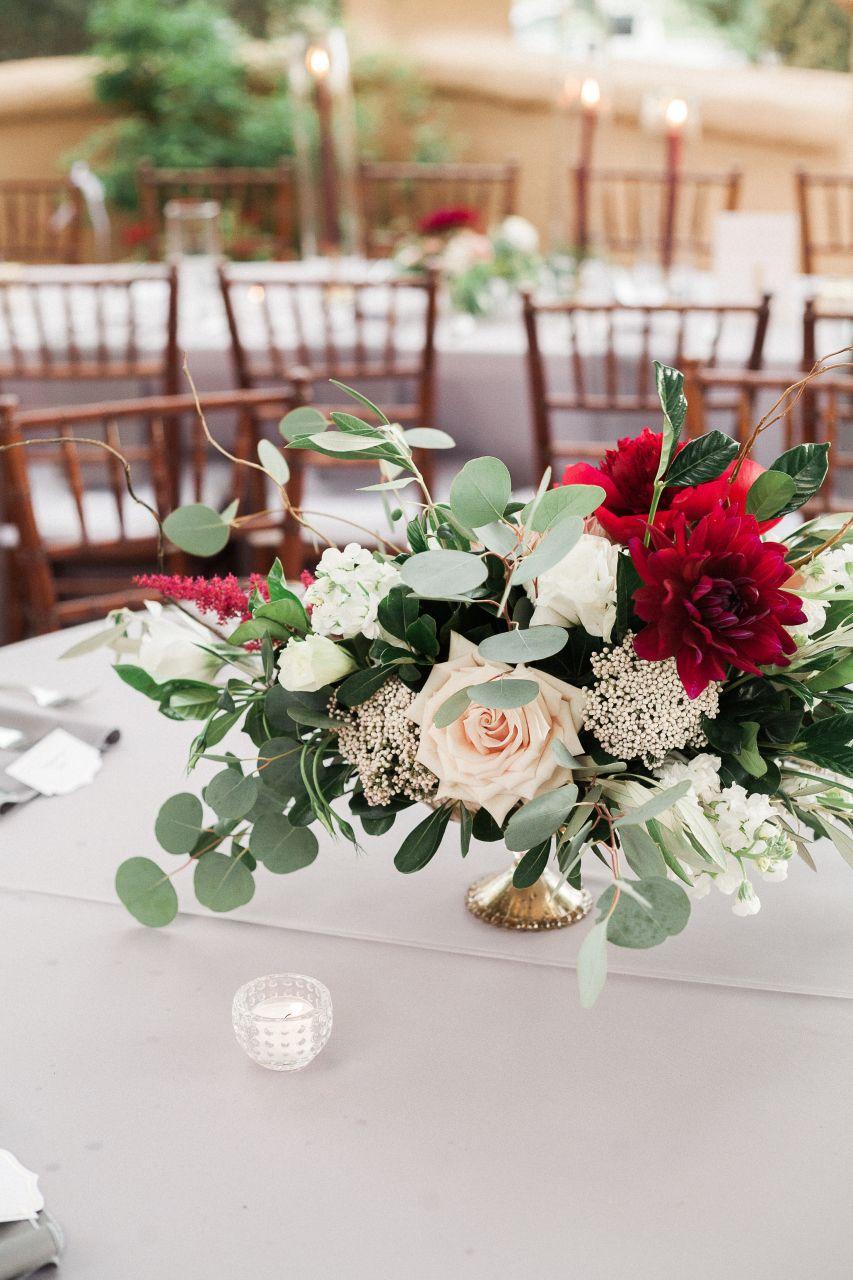 Denver Colorado wedding venue - Villa Parker - centerpiece