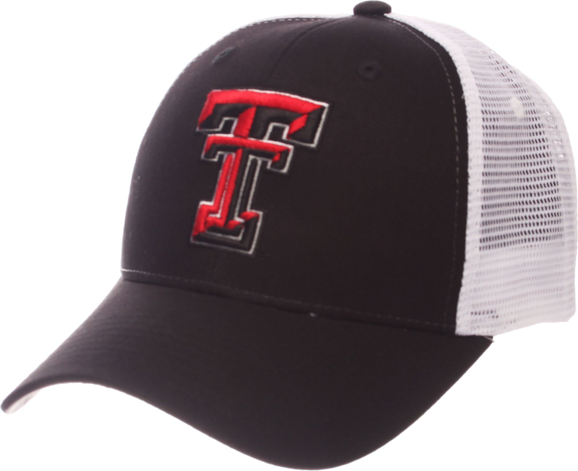 quality design 16004 2716d Zephyr Men s Texas Tech Red Red White Big Rig Adjustable Hat, Black