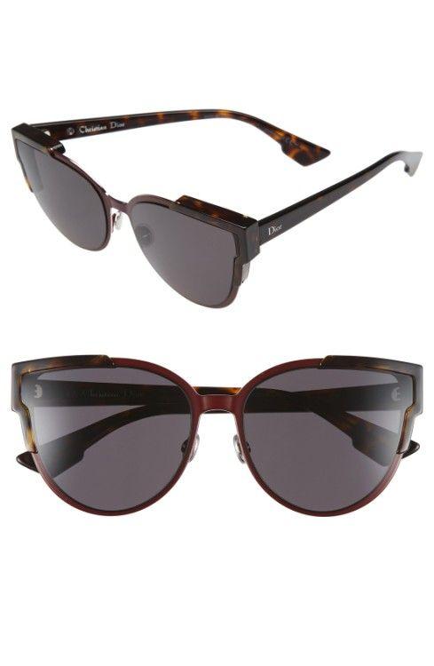 453f51cceaf2f Main Image - Dior Wildly Dior 60mm Cat Eye Sunglasses