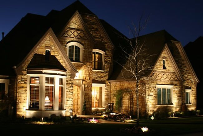 Home Exterior Lighting Colleyville Home Lighting In Dallas Fort