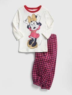 643ac997581d babyGap   Disney Minnie Mouse Flannel PJ Set   Girls Clothes   Cute ...
