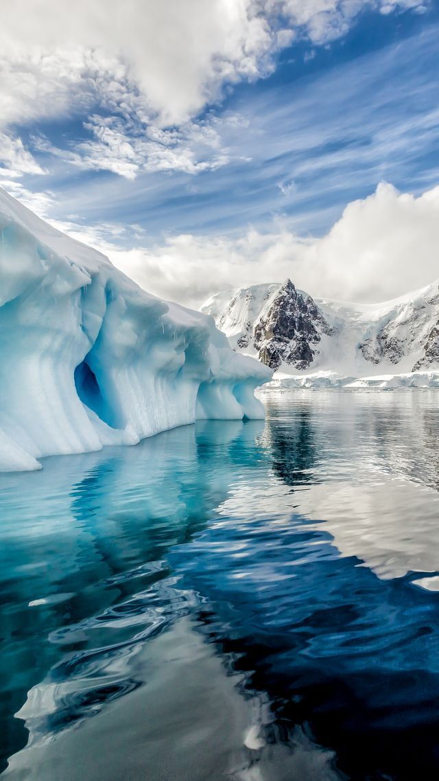 Antartica Iceberg Oceano 8k Vertical Nature Iphone Wallpaper Iphone Wallpaper Ocean Nature Wallpaper
