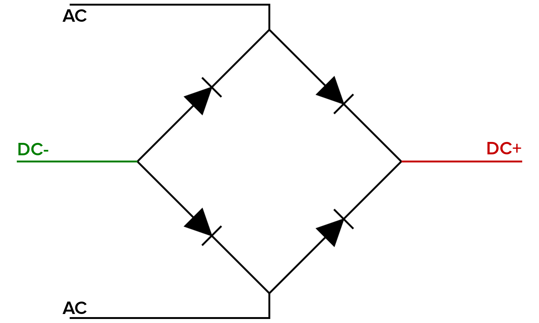 Image result for full bridge rectifier (With images
