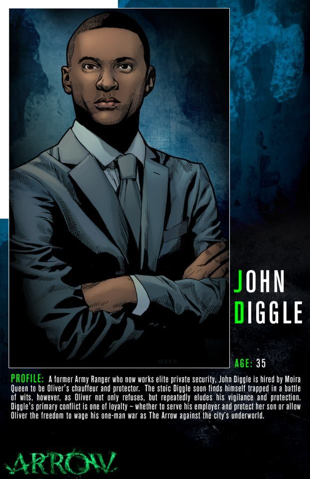 Get to know Oliver Queen\'s chauffeur and protector, John Diggle. Don ...