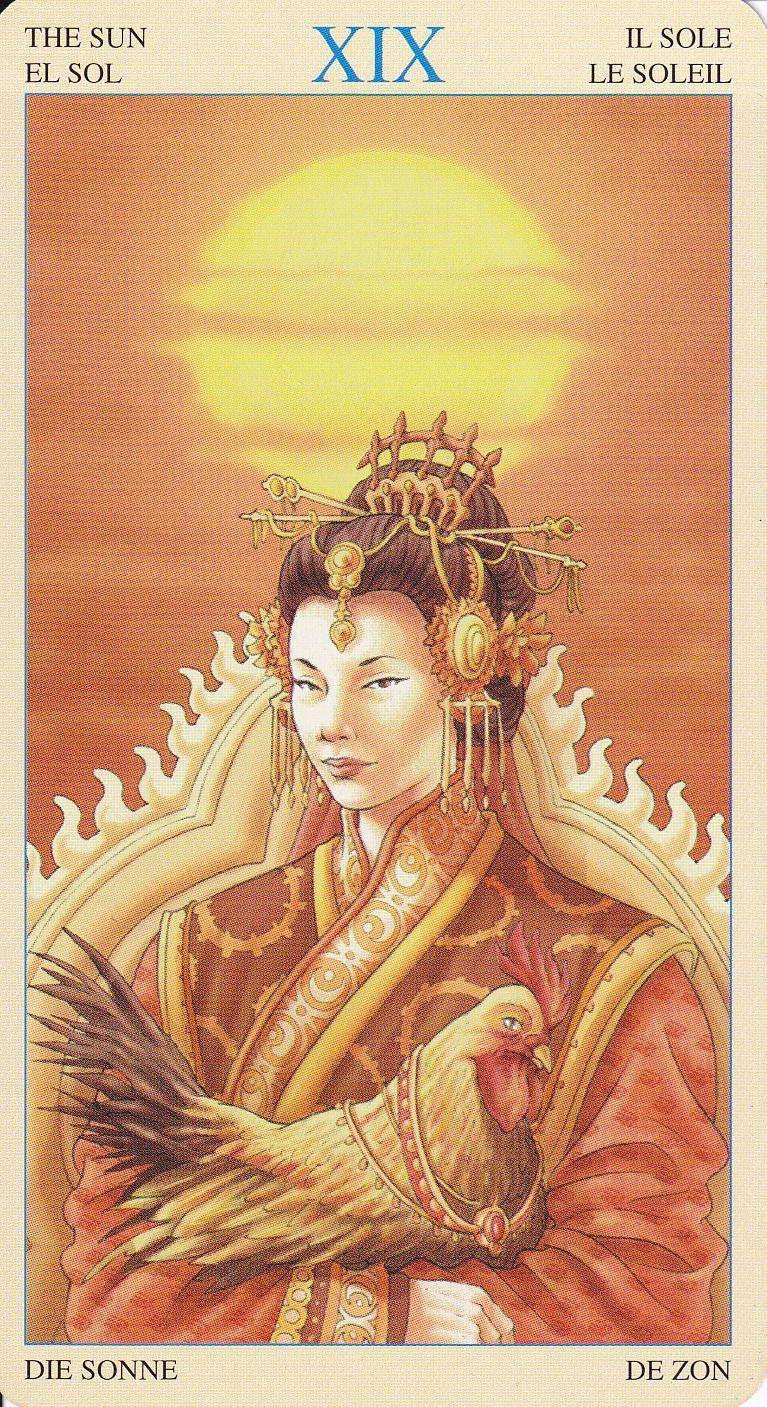 Amaterasu, Tarot And Goddesses
