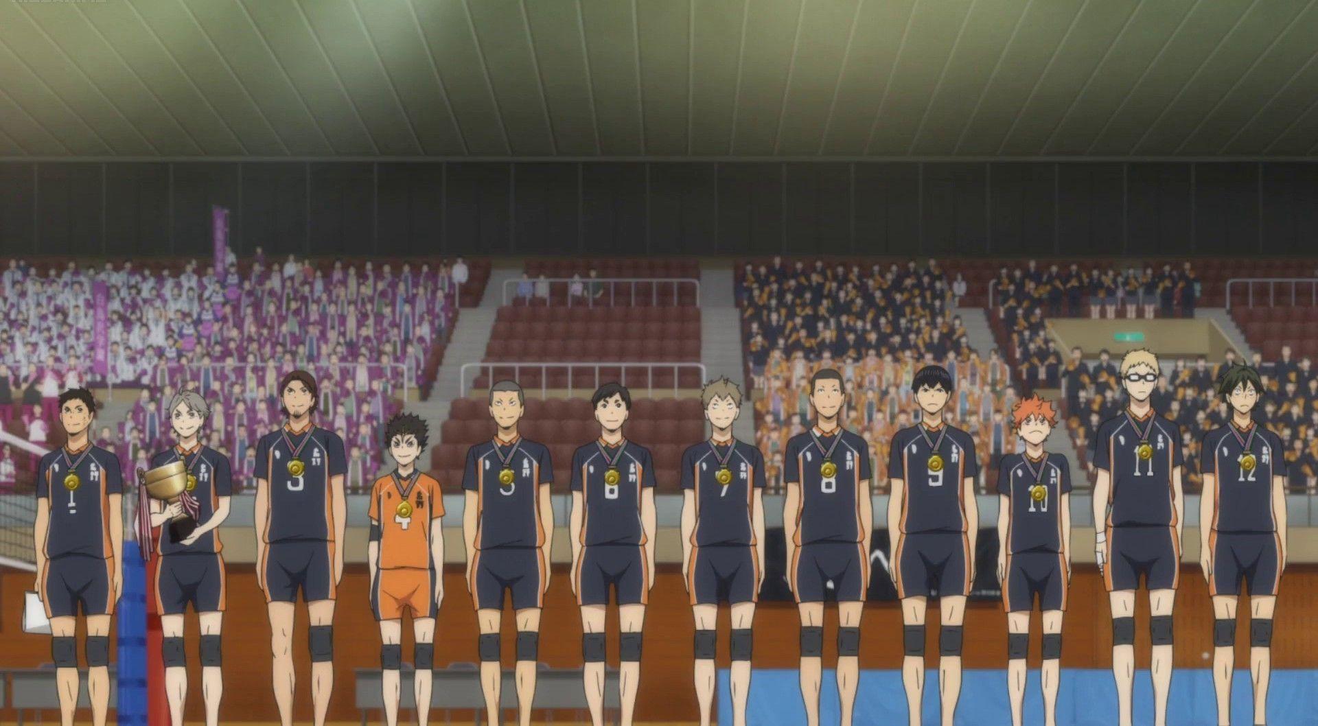 Kurasuno High In 2020 Haikyuu Soccer Field Haikyu