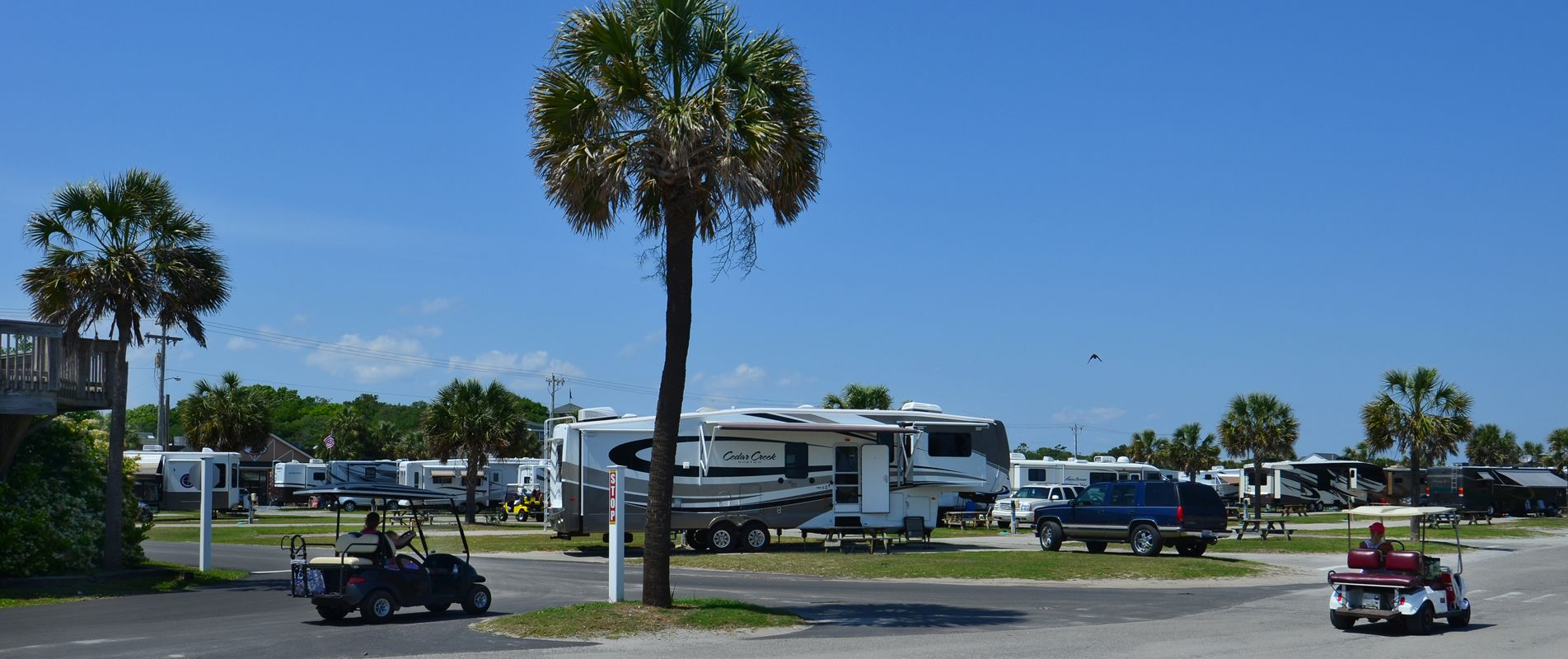 Campsite Rates Ocean Lakes Family Campground South Carolina Vacation Campsite Campground