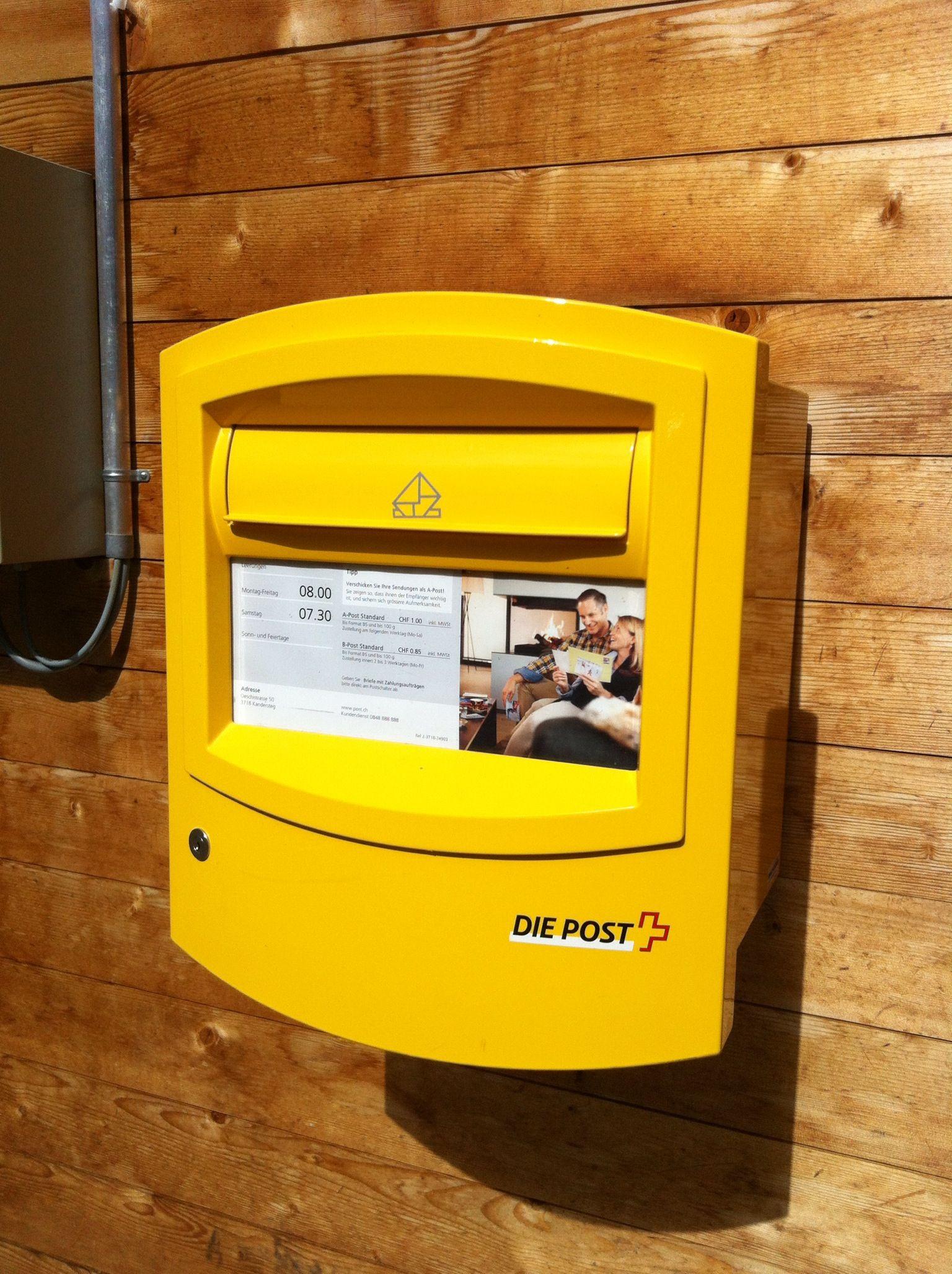 Swiss post box coupon code