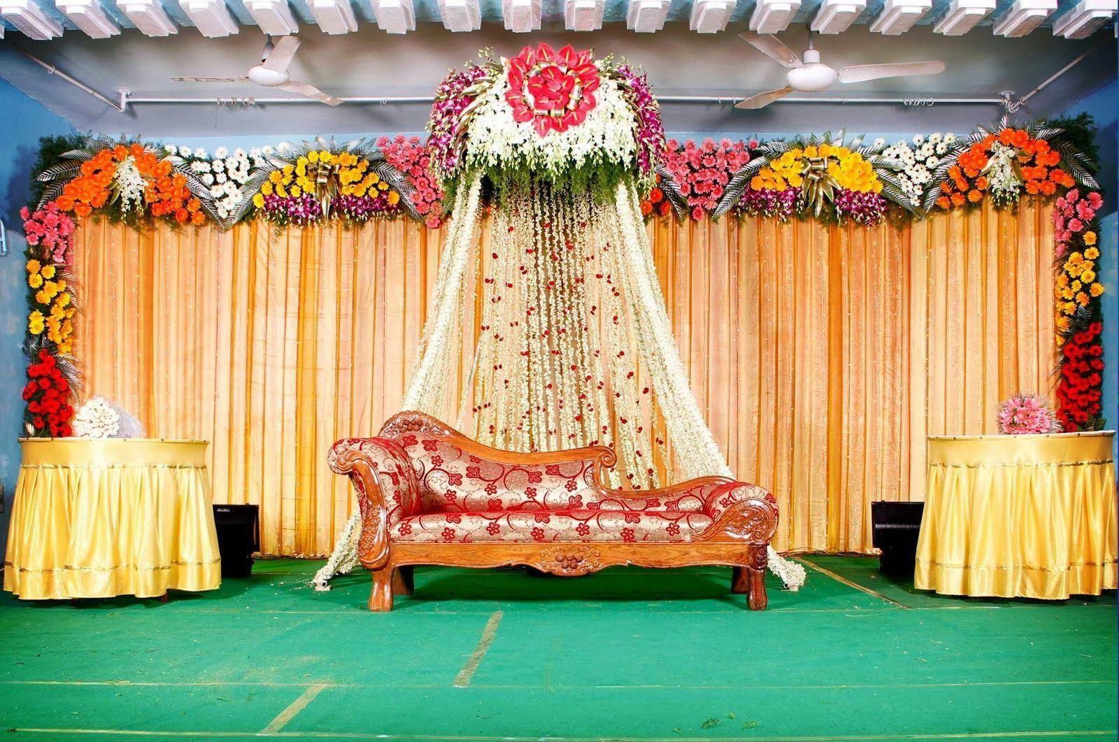 Stage Decoration For Christian Wedding Reception Planning