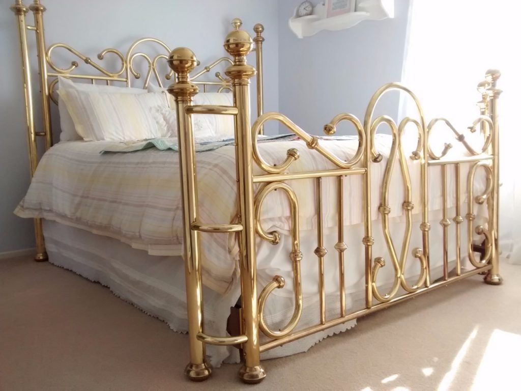 Bohemian Romance Brass Bed Brass Bedroom Bed Frame And