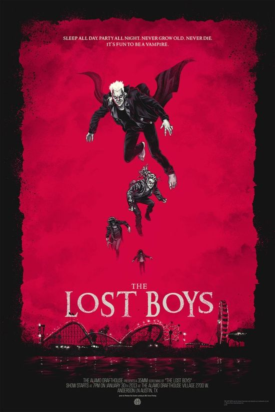 The Lost Boys 11X17 Movie Poster Original Version