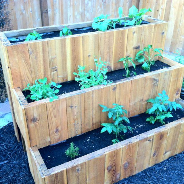 3 Tier Strawberry Planter: Vegetable Planters, Strawberry