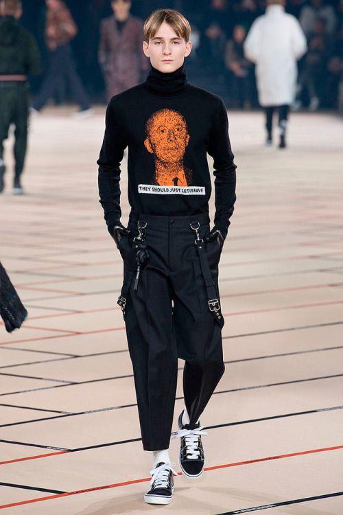 Dior Homme FW17.  menswear mnswr mens style mens fashion fashion style dior diorhomme runway