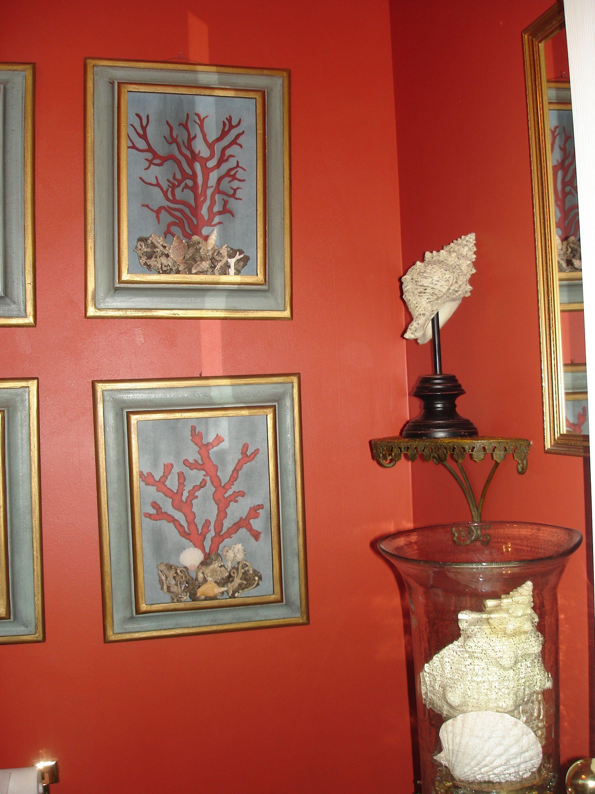 Photo Gallery Website Powder Room Tibetan Orange Powder RoomsPaint ColorsBathroom Ideas