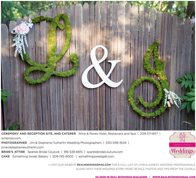 Sacramento Wedding Inspiration: Lynn & James {from The