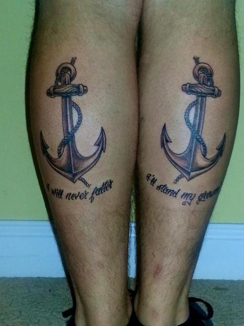 Christian Anchor Tattoo Designs Anchors Christian Tattoos on ...