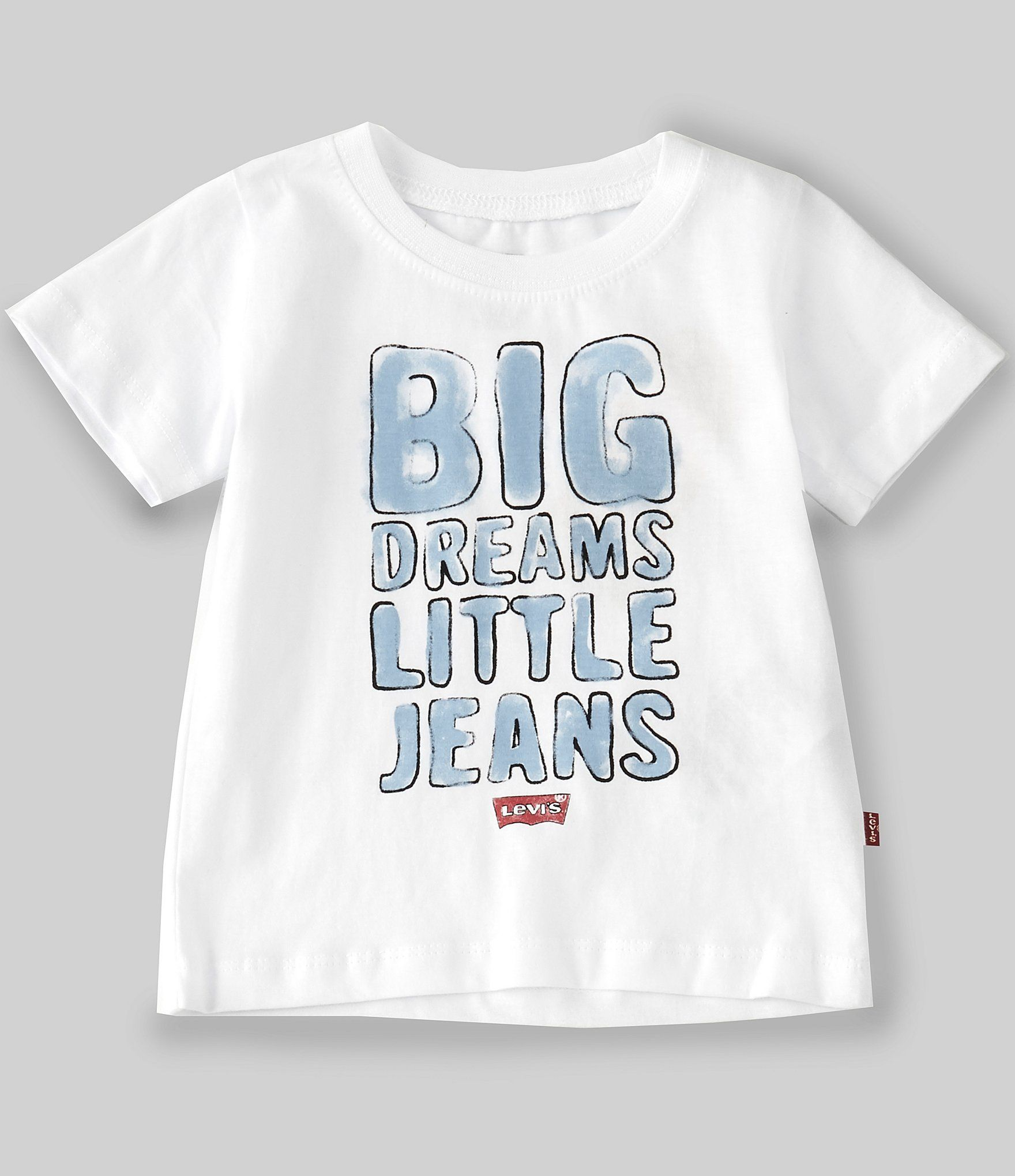 Photo of Levi's® Baby Boys 12-24 Months Short-Sleeve Logo Graphic Tee | Dillard's